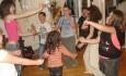 Пижамено парти и бой с възглавници